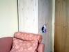 Studentský pokoj ze sukaté borovice - šatní skříň