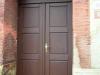 Venkovní dveře z masivu