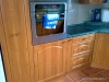 Kuchyň olše, dvířka prolisovaná