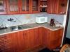 Kuchyň třešeň, dvířka prolisovaná