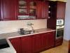 Kuchyň mahagon, dvířka prolisovaná
