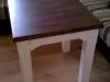 Konferenční stolek z masivu - provensálský styl