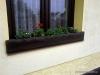 Okrasná zábrana do okna